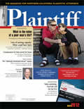 plaintiff magazine may 2012